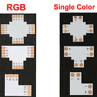 5pcs Cross +  4-pin 5050 RGB/Single Color T L ShapeLED Strip Connector Adapter