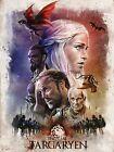 Game of Thrones GOT Winter is Coming Season poster|Sizes A4 - A1 UK Seller |E008