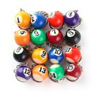 Pool Ball Keyring Lucky Colour Number Keychain £3.99 GBP on eBay