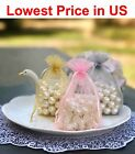 """100/500/1000 pcs 4""""x6"""" Organza Wedding Party Favor Gift Candy Bags Jewelry Pouch $103.4 USD on eBay"""