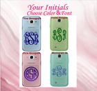 "Monogram Decal For Your Cell Phone Cases Sticker 4 Monogram Fonts Choice 2"" 2.5"""