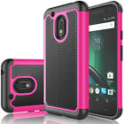 For Motorola Moto G4 Play/G4 Plus/G4 Case Shockproof Rugged Rubber Hard Cover