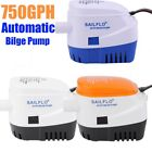 SEAFLO Automatic 750GPH Submersible Bilge Water PUMP 4 Year Warranty Boat Auto J