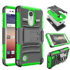 Belt Clip Holster Hard Case Cover for LG Phoenix 3 / K4 2017 / Fortune / Risio 2