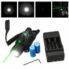 Green/Red Laser Sight LED Flashlight Combo & Picatinny Rail Mount 16340