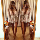 Fashion Womens Summer Long Sleeve Lace Tops Shirt Casual Blouse Loose  Lace Tops
