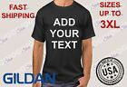 Custom Add Your Text Shirt Message Business Name Personalized Tee T-Shirt Top image