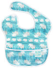 Bumkins Waterproof Easy Wipe Superbib Bib w/Pocket Kids 6 Months to 2 Year 30650