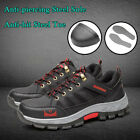 Men's Safety Fashion Shoes Steel Toe Sole Breathable Work Boots Hiking US stock фото