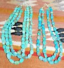 20 Inch Large Turquoise Nugget Necklace-Over 60 Grams Total Weight - Variations