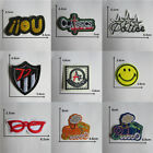 Patches For Clothing Embroidered Appliques DIY Apparel Accessories Patches @12