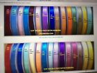 """5 /8"""" DOUBLE FACE SATIN RIBBONS- CHOOSE FROM 43 COLOR"""