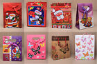 6pc SMALL / MINI GIFT PRESENT BAGS BIRTHDAYS CHRISTMAS TEDDY BUTTERFLIES