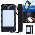 10000mAh Dual USB Portable Solar Battery Charger Solar Power Bank For SmarPhone