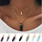 Fashion Charm Jewelry Pendant Chain Crystal Choker Chunky Bib Statement Necklace
