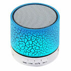 Bluetooth Wireless Mini Portable Speaker Bass for MP3 iPhone iPad + Night Light