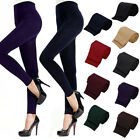 Women's Solid Colored Winter Warm Tights Stretch Thick Footless Pants Dreamed