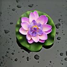Plastic Artificial Plants Water Lily Lotus Decoration Real Artificial Lotus Hot