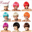 Women Girl Lady Hair Straight Short Wigs Costume Anime Cosplay Party Wig