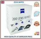 400 Zeiss Wipes Pre Moist Lens Cleaner Lenses Individual loose Sachets Glasses