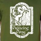 PRANCING PONY Premium Cotton T-shirt lord rings lotr hobbit frodo tolkien shire