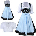 Внешний вид - Kojooin Dirndl Oktoberfest German Austrian Costume Fancy Dress Size S M L XL 2XL