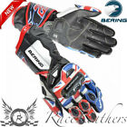 BERING SAM LOWES REPLICA LEATHER MOTORCYCLE SPORTS BIKE RACE RACING GLOVES
