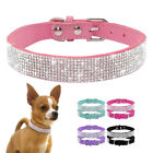 Luxury Rhinestone Pet Dog Collars Bling Cute for Small Dogs Puppy Cat Chihuahua