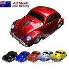 Optical 2.4Ghz wireless Mouse VW Beetle Car Mice for Laptop PC + USB Receiver AU