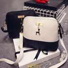 Women Shell Pu Leather Shoulder Bag Tote  Messenger Crossbody Satchel Handbag