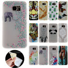 Ultra Slim TPU Cute Pattern Soft Rubber Case Cover Skin For Samsung Galaxy Phone