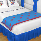 Oklahoma City Thunder Sheet Set & Runner Blanket Set Twin Full Queen King Size