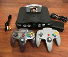 N64 Nintendo 64 Console with Authentic Controller - Mario Kart, 007, Super Smash