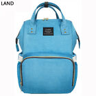 US LAND Mummy Backpack Diaper Bags Large Multifunctional Baby Nappy Changing Bag фото