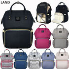 LAND Mummy Backpack Diaper Bags Large Multifunctional Baby N