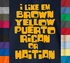 A Tribe Called Quest I LIKE EM BROWN... T-Shirt Electric Relaxation Lyrics Tee