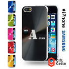 The A Team Action DVD Logo Gift Engraved CD Phone Cover Case - iPhone & Samsung