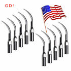 USA 10pc Dental Ultrasonic Scaler Tips Scaling Fit DTE SATELEC GD1-GD6 w3