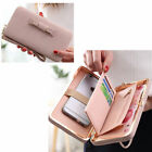 Large Capacity Women Wallets Bow Tie Pocket Long Section Purse Card Holder