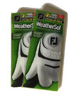 Footjoy Weathersof golf glove 2 double packs (4 gloves) select size....FREE SHIP