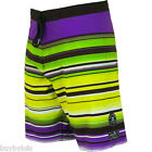 BILLABONG BOARDSHORTS *** ICONIC STRIPE *** W32, W34, PURPLE, YELLOW