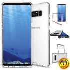 For Samsung Galaxy Note 8/S8/S8 Plus Shockproof Hard Clear Case TPU Bumper Cover