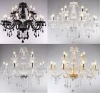 Crystal Chandelier Ceiling Lamp Pendent Light Glass Beads