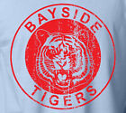Save by the Bell BAYSIDE TIGERS T-Shirt Retro High School Slate Football Tee