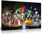 Star Wars Collage Movie Canvas Wall Art Picture Print £15.99 GBP on eBay