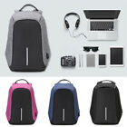 Anti-Theft Laptop Backpack Travel Working Bag Computer Rucksack With USB Charger