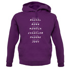 Friends Cast - Unisex Hoodie / Hooded Top - Funny / Tv / Film / Comedy