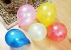New Pack of 20 Metallic Latex Balloons Multi-Coloured Party Inflatable UK Seller