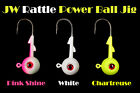 Jigging World Rattle Power Ball Jigs FREE SHIPPING in the US