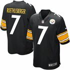 Pittsburgh Steelers Jersey Youth Game Ben Roethlisberger #7 Nike Black NFL on eBay